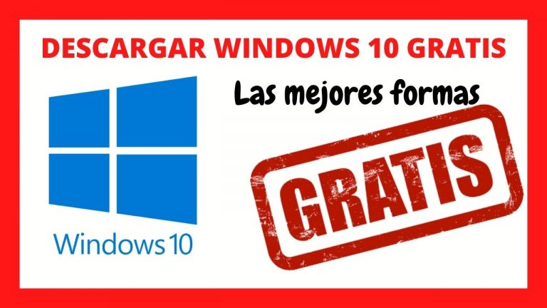 descargar windows 10 gratis y legal