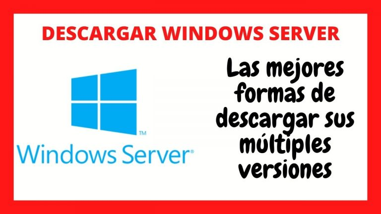 descargar windows server gratis 2020 2021