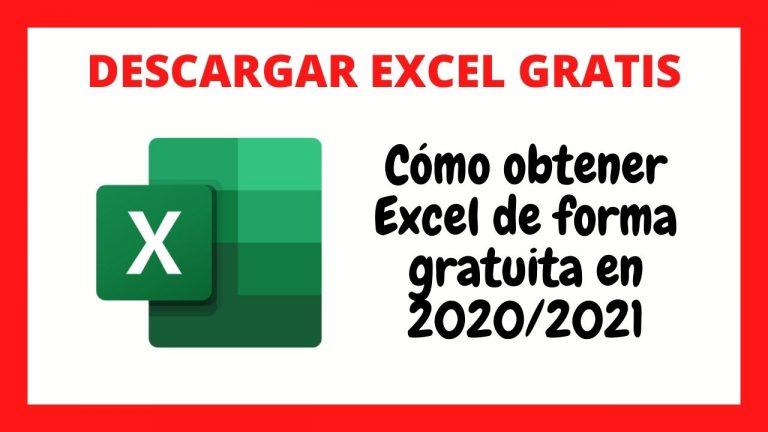 Cómo Descargar Excel Gratis 2020 2021 [Legal y Gratuito]
